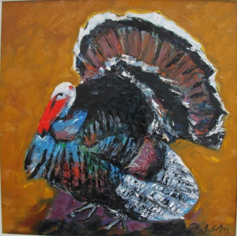"Michael Flaherty - Turkey, 24"" x 24"""