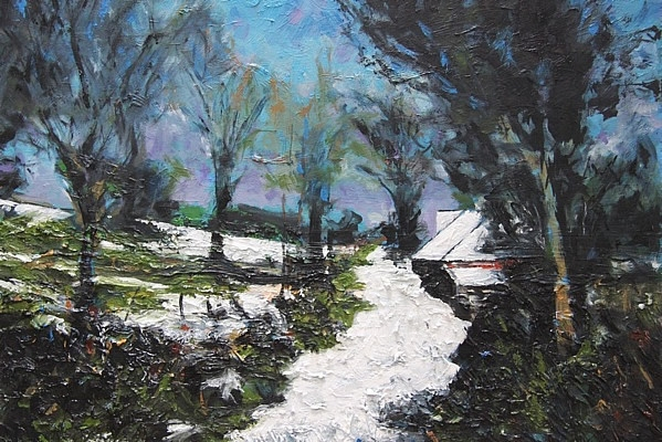 Michael Flaherty - LOWER CAPPAGH:  24 x 30