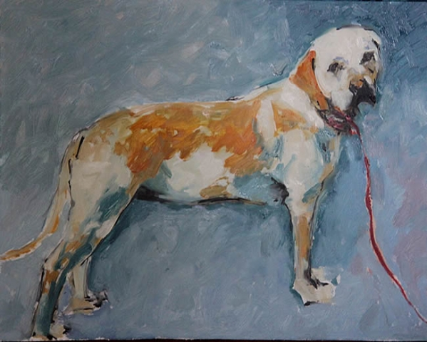 "Michael Flaherty - Dog: 24"" x 30"""