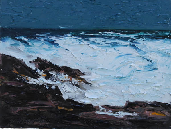"Michael Flaherty - Sea Series 5:  9""x 12"""