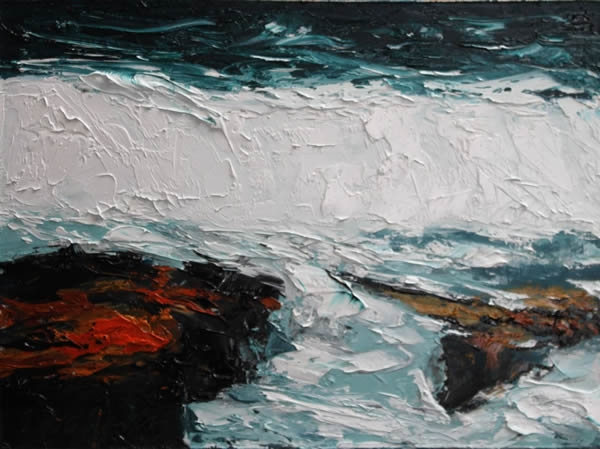 "Michael Flaherty - Sea Series 7:  9""x 12"""