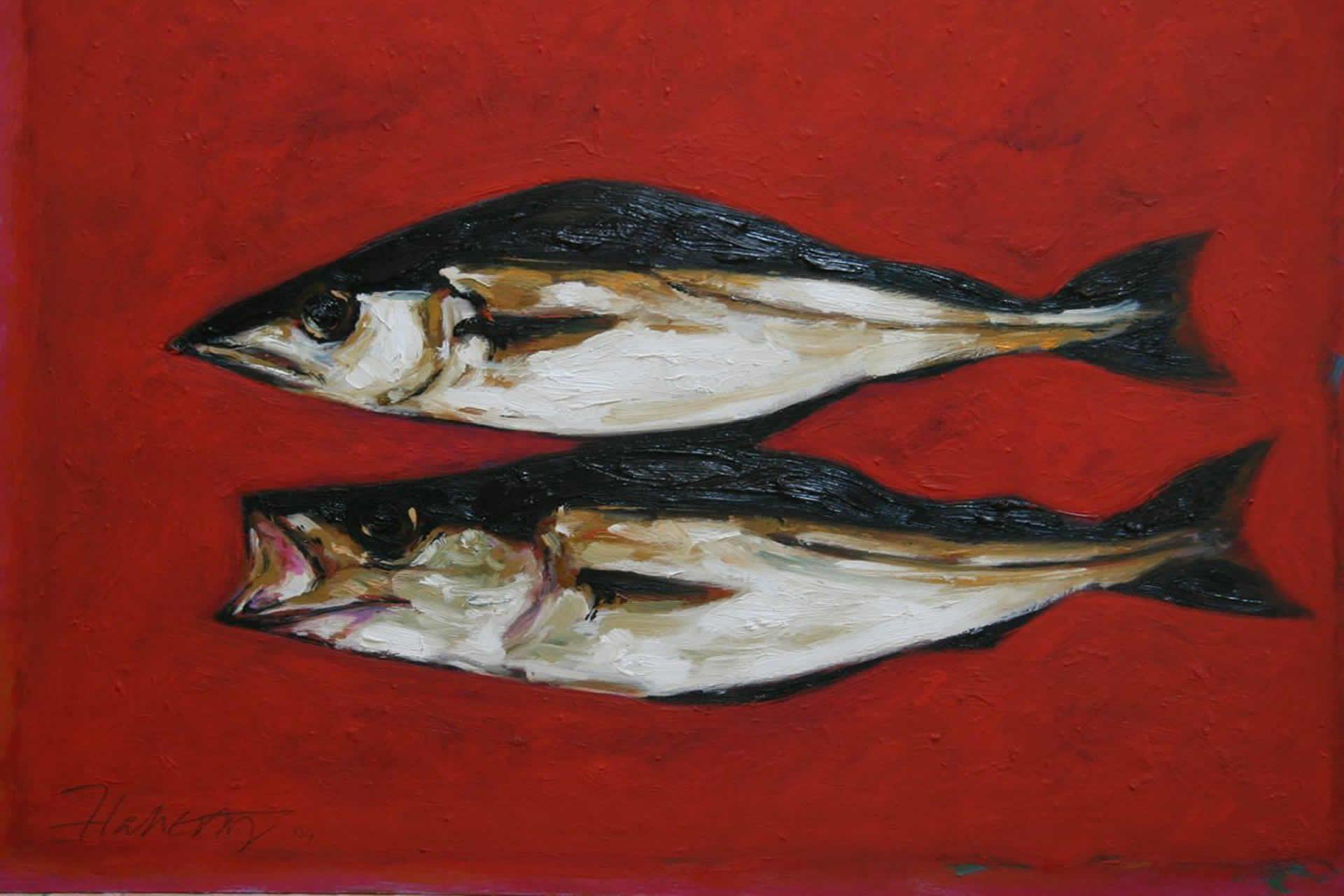 Michael Flaherty Irish oil painter